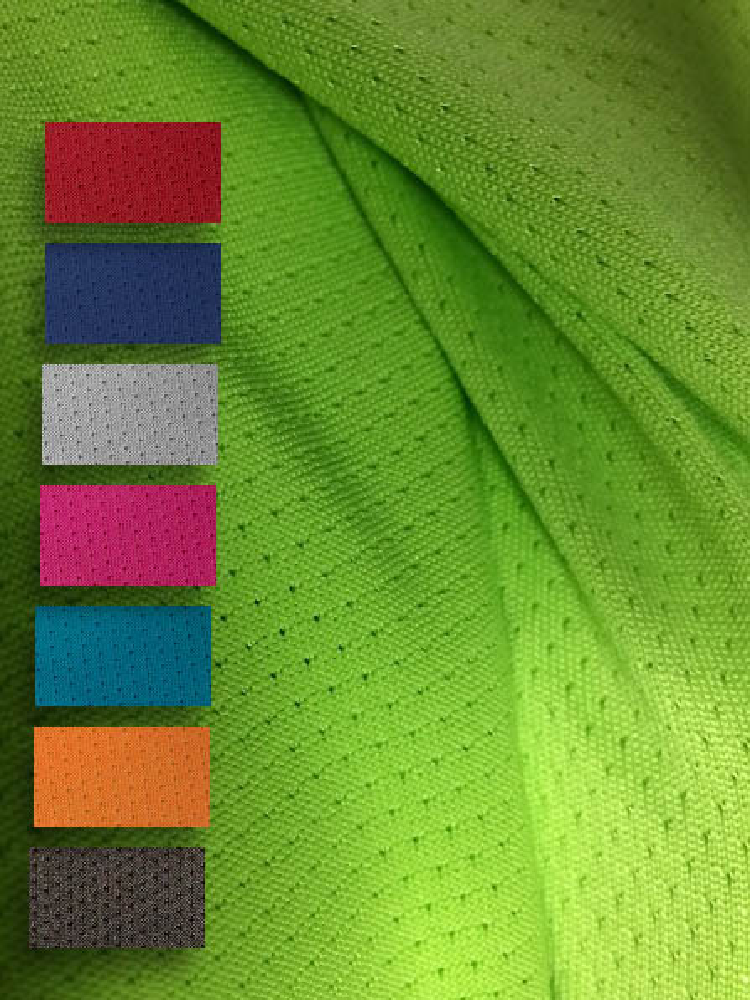 stoffe cool jersey mesh sport tricot funfabric. Black Bedroom Furniture Sets. Home Design Ideas