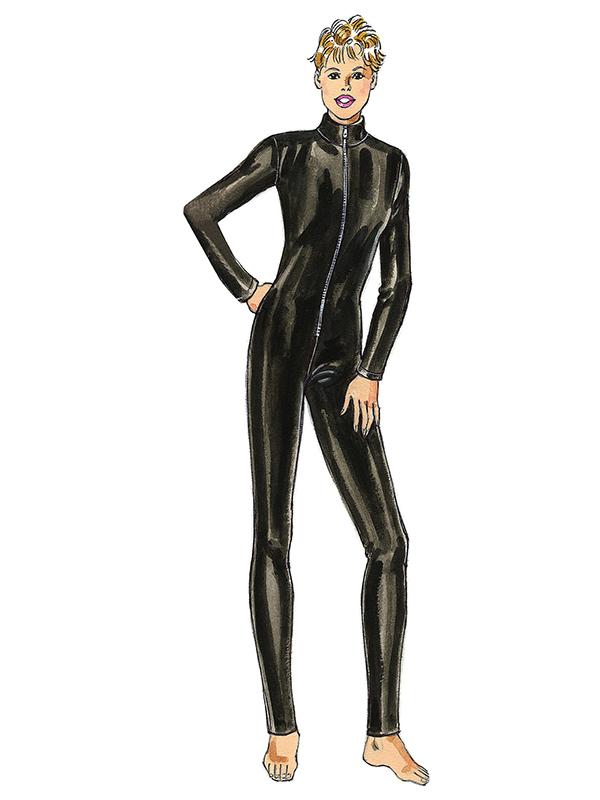 Schnittmuster-KWIK-SEW-Sportbekleidung-Catsuit-Bodysuit-3 FunFabric